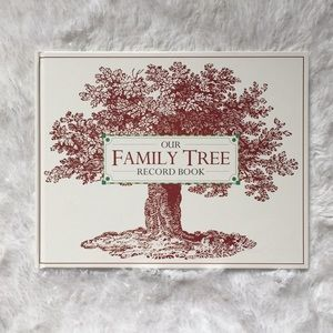Other - NEW Family Tree Record Book